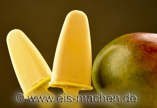eis rezept mango joghurt sahne eis am stiel ohne ei und ohne eismaschine selber machen. Black Bedroom Furniture Sets. Home Design Ideas